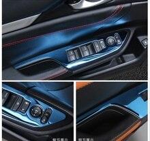 цена на Car Interior Mouldings Door Armrest Panel Handle Holder Window Lift Switch Button Cover Trim For Honda Civic 10th 2016 2017 2018