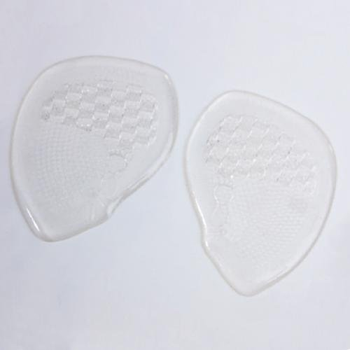 VSEN 2X 1 pair Silicone Gel Front Half Soles For High Heel Shoes One Size 2x front