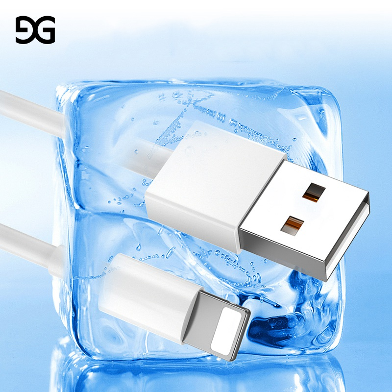 GUSGU USB Cable For iPhone X 8 7 Plus Fast Data Charger
