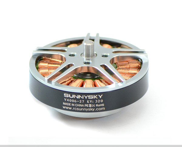 New SUNNYSKY V4006 320KV 380KV 740KV Outrunner Brushless Motor for FPV RC Multicopter sunnysky m80 130kv 150kv desk outrunner brushless motor for fpv rc multi rotors