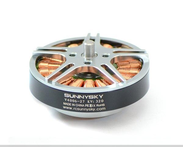 Nuevo sunnysky v4006 320kv 380kv 740kv outrunner brushless Motores para FPV RC multicopter