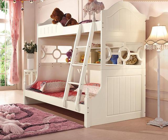 Slaapkamer Meubels Kind : Koreaanse kinderen meubels echte prinses slaapkamer dubbele bed