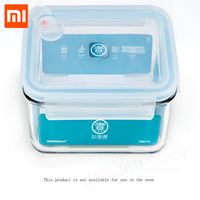 XIAOMI Mijia Kitchen Falling Resistant Glass Fresh Keeping Box Students Portable Lunch Box For xiaomi smart home