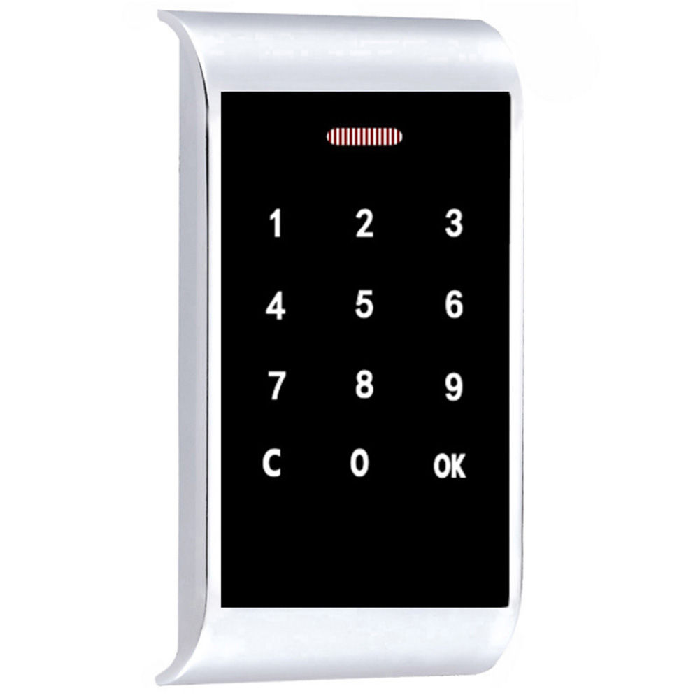 Zinc Alloy Security Cabinet Home Password Lock Backlight Digital Smart Electronic Drawers Code Durable Touch Keypad Protection