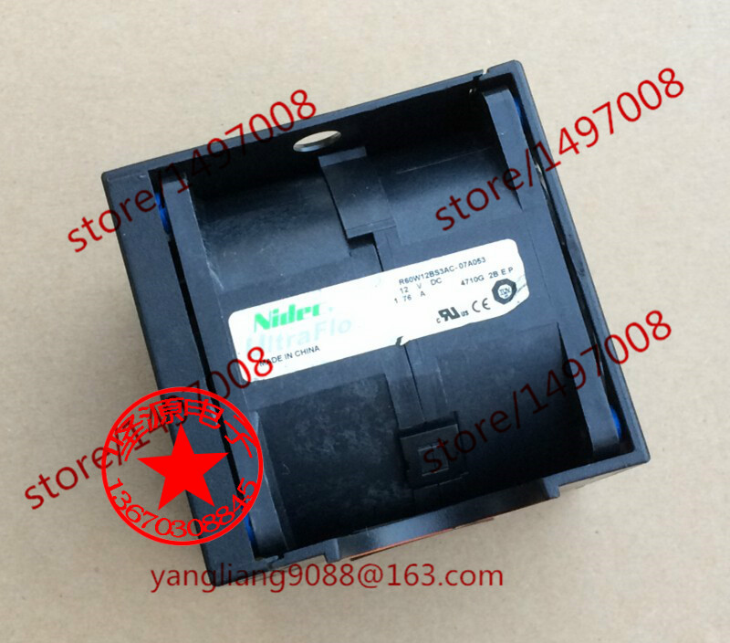 где купить Free Shipping For Nidec R60W12BS3AC-07A053 DC 12V 1.76A Server Square Cooling Fan дешево