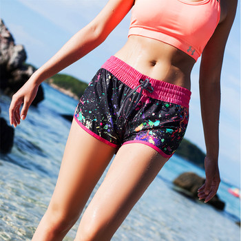 2017 GS Brand swim shorts women's multipurpose summer boardshorts lace-up beach shorts boardshorts surf women swimwear   1