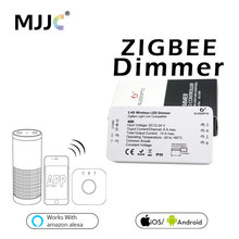 Zigbee LED Dimmer DC 12V 24V 360W Smart APP Control Light Strip Voltage Regulator Light Dimmer For LED Strip Power Controller(China)