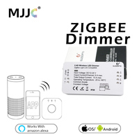 Zigbee LED Dimmer DC 12V 24V 360W Smart APP Control Light Strip Voltage Regulator Light Dimmer For LED Strip Power Controller