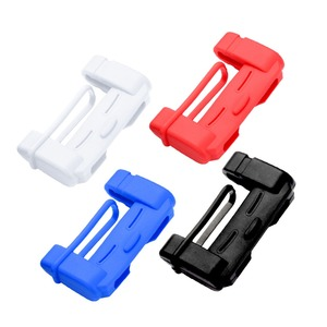Image 5 - 1pcs Car Safety Belt Buckle Covers Padding Anti Scratch Silicon Interior Pad Buckle Protector Seat Belts Padding Car Accessories