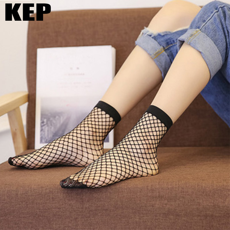 3Pair/lot Cool Summer Breathable Comfortable Fishnet   Socks   Women Sexy Ladies Mesh Fish Net   Socks   Discounted Product Dropshipping