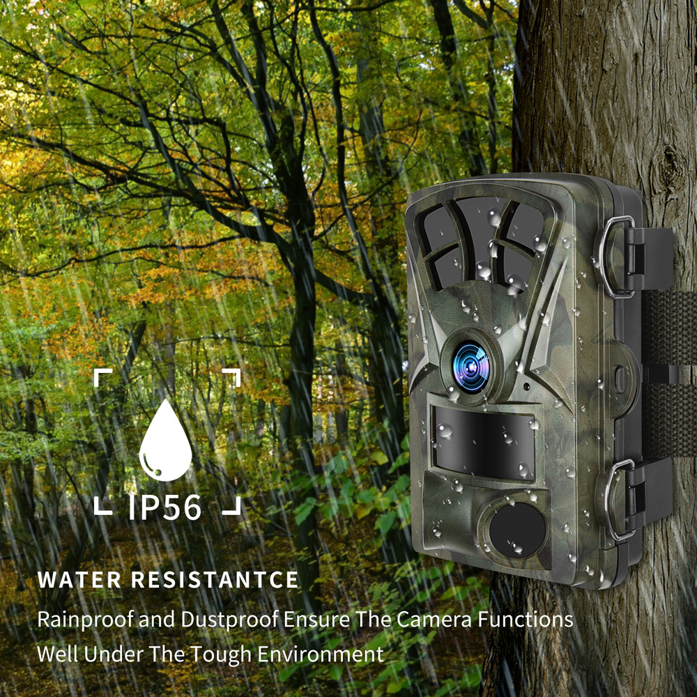 Hunting Trail Camera H885 HD 1080P Night Vision Scouting Camera Infrared Waterproof Wide Angle Wildlife Camera 5