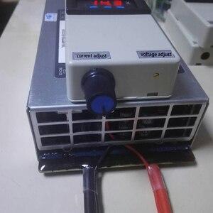 Image 2 - מתח הנוכחי מתכוונן Lifepo4 Lipo ליתיום ליתיום סוללה מטען 4.2V 8.4V 12V 12.6V 14.6V 14.8V 75A 50A תצוגת 2S 3S 4S