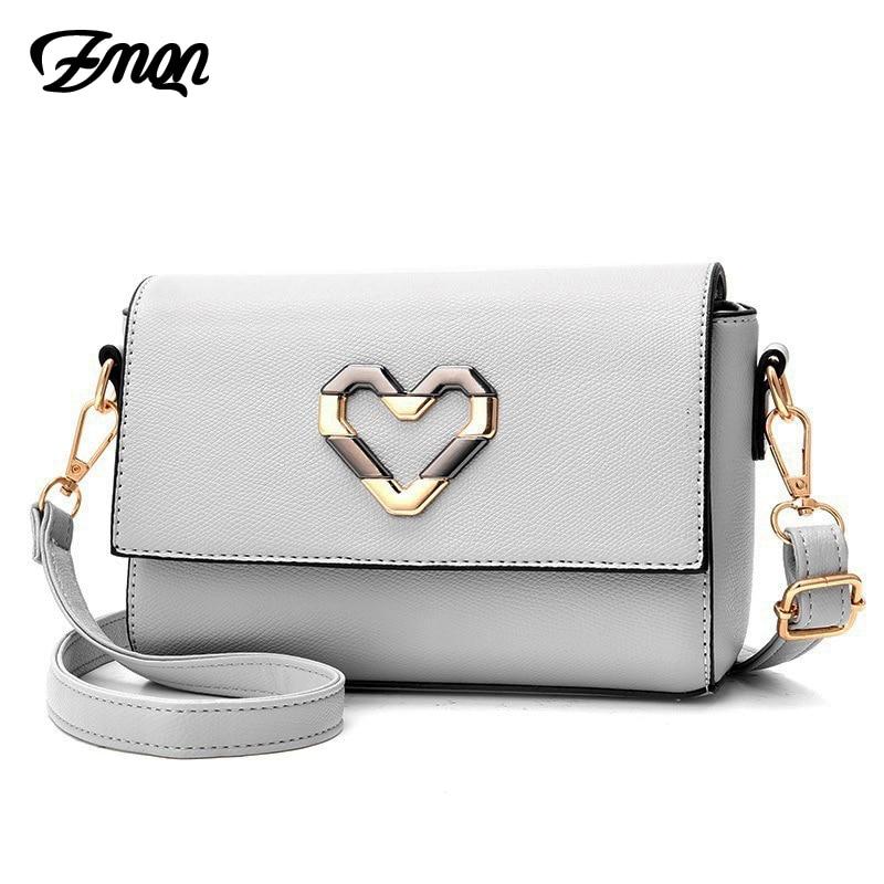 ZMQN Women Crossbody Bags 2018 Fashion Women PU Leather Shoulder Bags Lady Small Flap Messenger Bag For Girls Summer Cheap B326