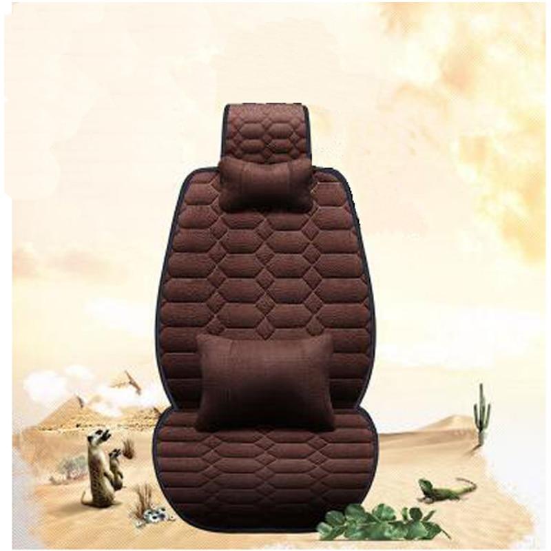 Plush car seat covers
