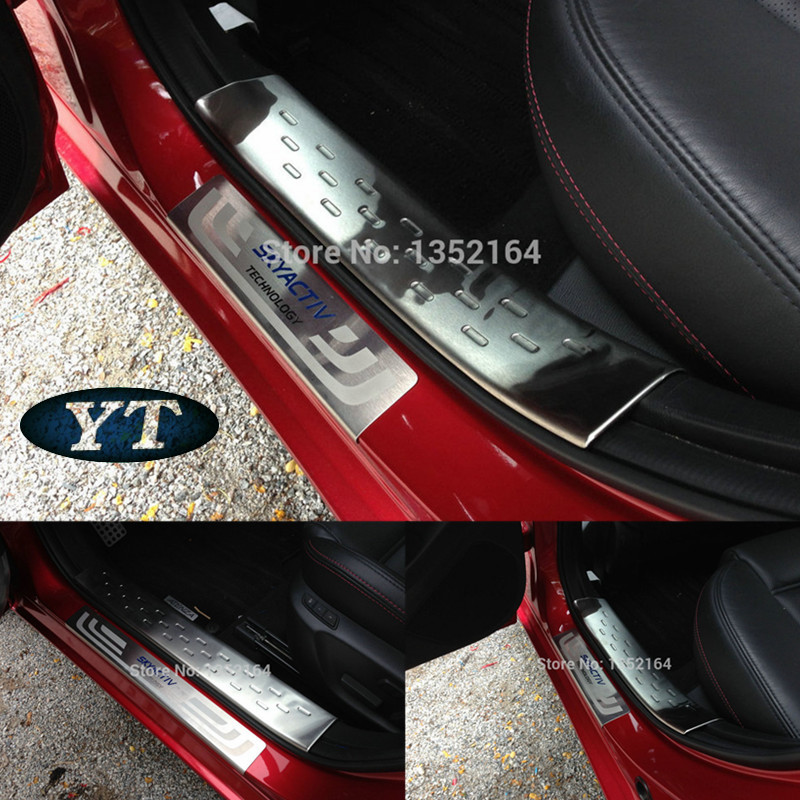 2005 Mazda Mazda6 Exterior: Auto Inner And Exterior Door Sill Plate Scuff Plate For