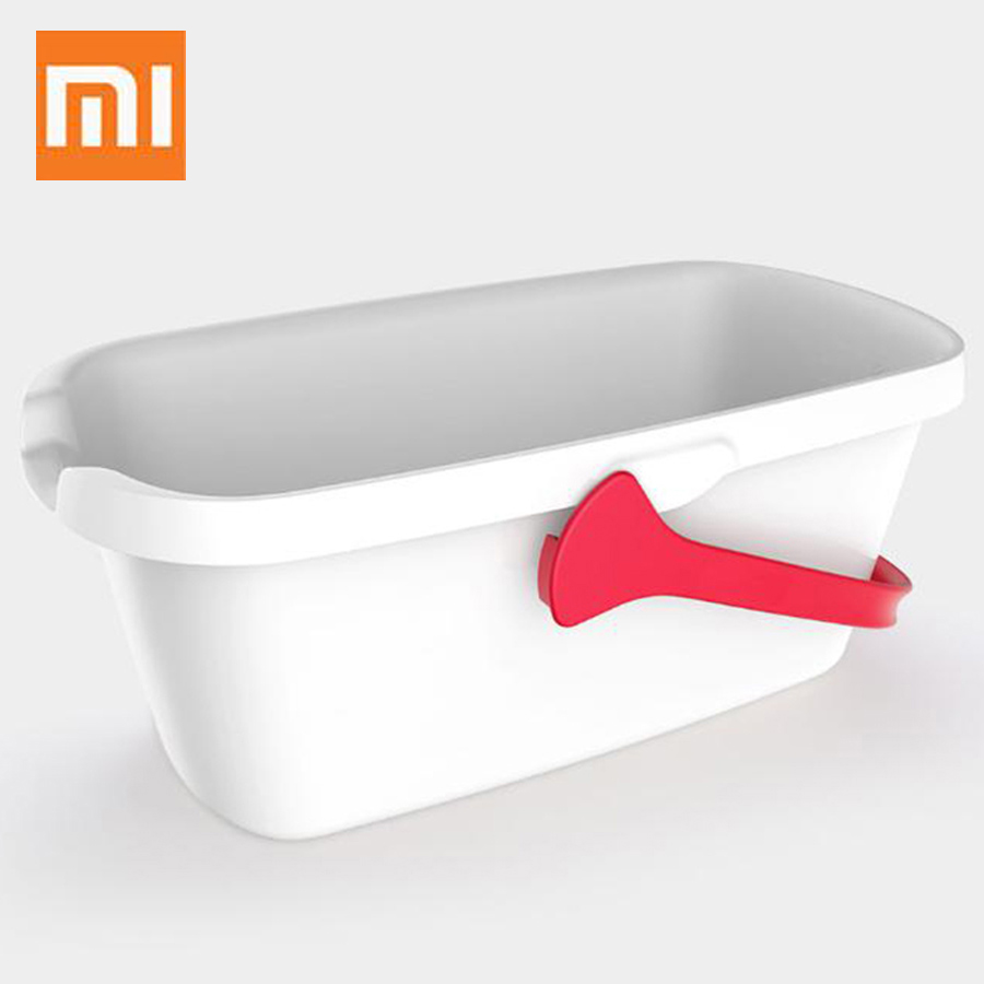 Original <font><b>Xiaomi</b></font> Yijie YD - 01 Simple Mop Cleaning Plastic Bucket With Handle From <font><b>Xiaomi</b></font> <font><b>Youpin</b></font> image