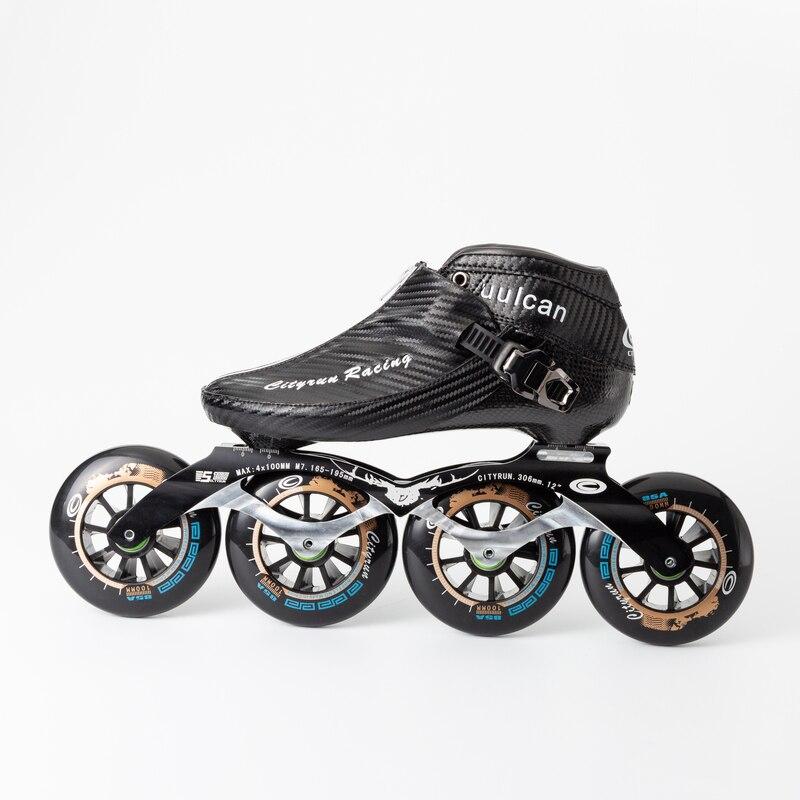 WEIQIU Inline Skates Professionele Slalom Volwassen Rolschaatsen Schoenen Sliding Gratis Skate Patins Size 35 44 Goed Als SEBA sneakers - 2
