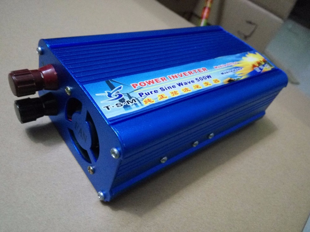 Здесь продается  500W peak 1000W DC12V to AC220V/DC12V to AC110V 50HZ/60HZ Pure sine wave power inverter for home solar system  Электротехническое оборудование и материалы