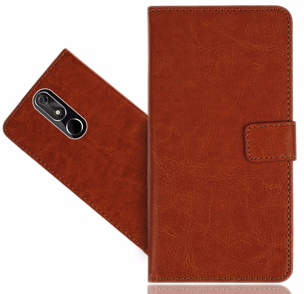 Case For Cubot Power (2018) Wallet Genuine Leather Kickstand Bag Coque Case Cover For Cubot Power (2018)