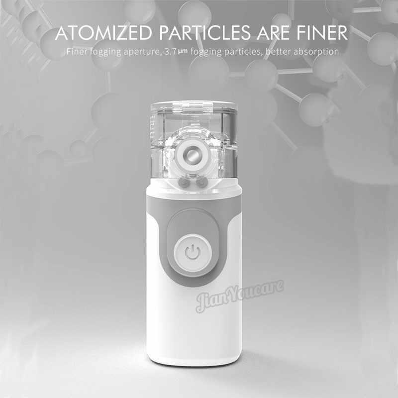 Мини Ручной портативный ингалятор с сетчатым распылителем, бесшумный Ингалятор usb autoclean, ингалятор для взрослых, автоматический ингалятор для детей