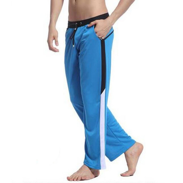KWAN.Z pijama masculino celos pants pyjama mens sheer home clothes men's pajamas lounge pants pantalon hombre nightwear man