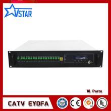 CATV EDFA multi Порты высокое Мощность оптический Усилители домашние EDFA 16 * 22dBm