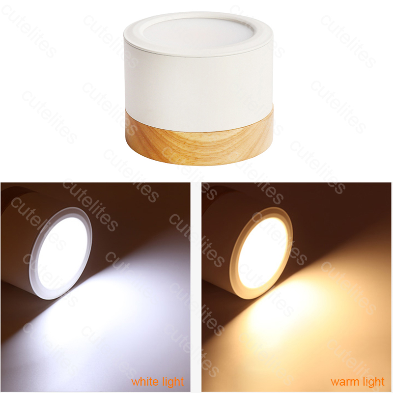 Surface Mounted Ceiling Downlight SMD2835 Dimmable 5W 7W 12W  Lamp SMD Led Downlights Ceiling Spot Light