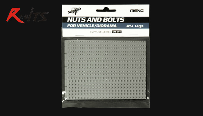 MENG MODEL 1/35 SCALE Military Models #SPS-004 NUTS AND BOLTS FOR VEHICLE/DIORAMA
