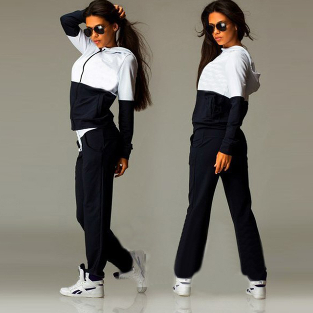 2 Piece Sexy Sports Tracksuits