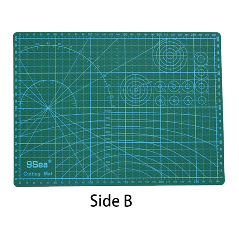 Купить с кэшбэком A3 cutting mat cutting board manual model cutting mat PVC Self Healing Cutting Mat Fabric Craft DIY ToolsDouble-sided Healing