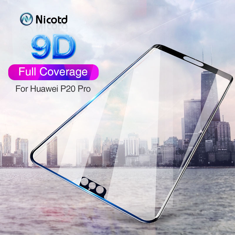 9D Curved Edge Protective Tempered Glass For Huawei P20pro P30 Lite Nova 4 3i Glass For Honor View 20 20i 9i 9 Screen Protector