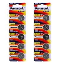10pcs/lot Panasonic CR2012 DL2012 ECR2012 3V Cell Coin Lithium Button Batteries Battery For Watch Electronic Toy Remote