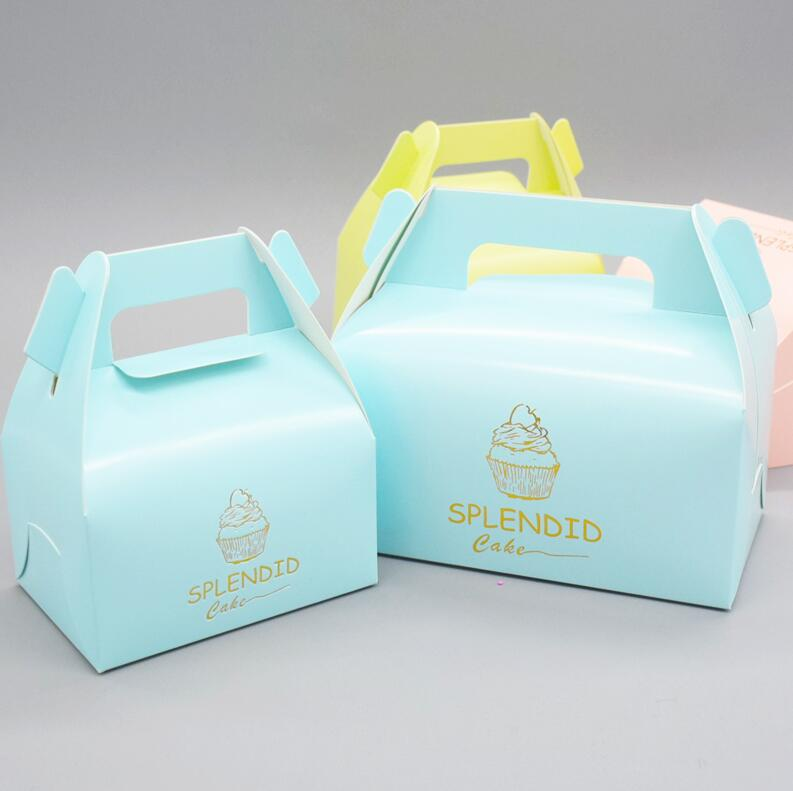wedding cake transport boxes cake packaging box with handle biscuit paper boxes paper 8845