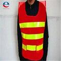 Colete para o tráfego construção reflexiva segurança vest com 2 tiras warehouse orange