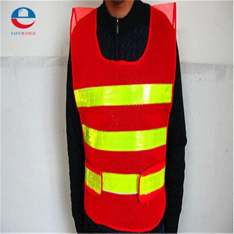 Reflective Safety Vest 2 Strips Waistcoat for Construction Traffic Warehouse Orange good sale reflective safety vest 2 strips waistcoat for construction traffic warehouse green