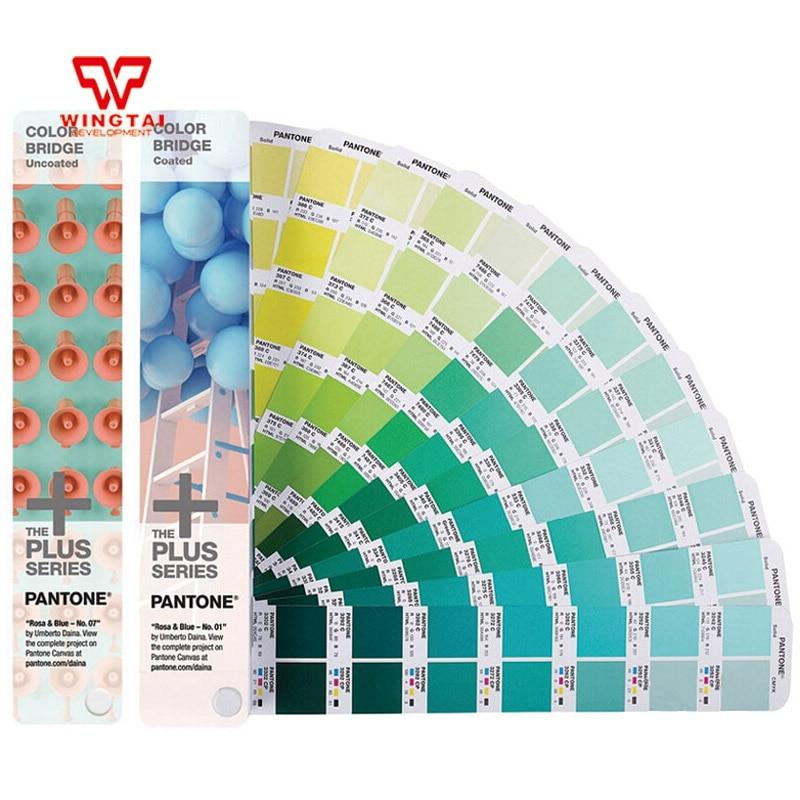 2 books/Set GP6102N PANTONE COLOR BRIDGE C/U Fabric color books все цены