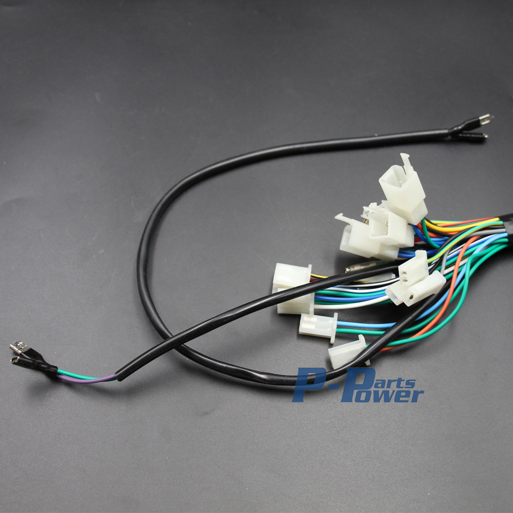 medium resolution of engine wire wiring harness loom 50cc 70cc 90cc 110cc 125cc pit quad dirt bike atv buggy new in motorbike ingition from automobiles motorcycles on