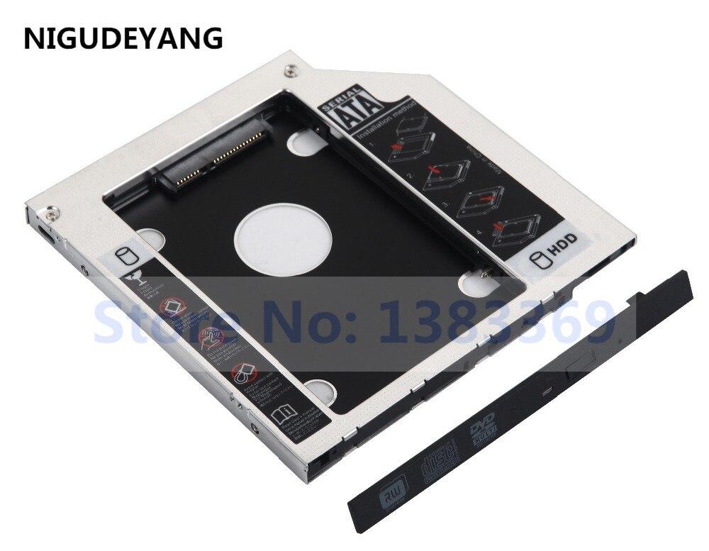 Diszipliniert Nigudeyang Sata 2nd Festplatte Hdd Ssd Rahmen Caddy Für Hp M6-1206tx 15-p069tx M7-j020dx 17-u275cl Computer & Büro Externer Speicher