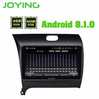 9 IPS Double 2Din Head Unit Android 8.1 2.5D Glass Car Radio Stereo For Kia CERATO K3 FORTE Multimedia Player Built in DSP
