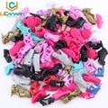 Original Shoes Random Pick A Lot = 30 Pairs  High Quality Mix Style Mix Color Shoes Accessories Wholesale for Barbie doll