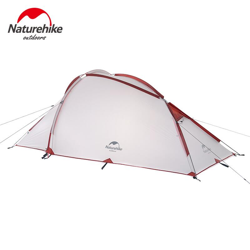 Naturehike Camping Tent 3 person Hunting Fishing Vacations Double Layer Tourist Hiking Tent Outdoor Recreation Camping Equipment