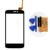 """Negro blanco tp para qumo quest 402 4.0 """"Pantalla táctil Del Panel de Cristal Digitalizador Sin Pantalla LCD de Repuesto para Teléfono Envío Libre + Herramientas"""