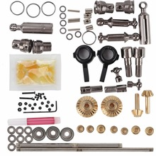 WPL Upgrade Full Metal Spare Part Original WPL OP Fitting Metal Accessories Gearbox For WPL B14 B16 B24 C14 C24 B36 RC trucks