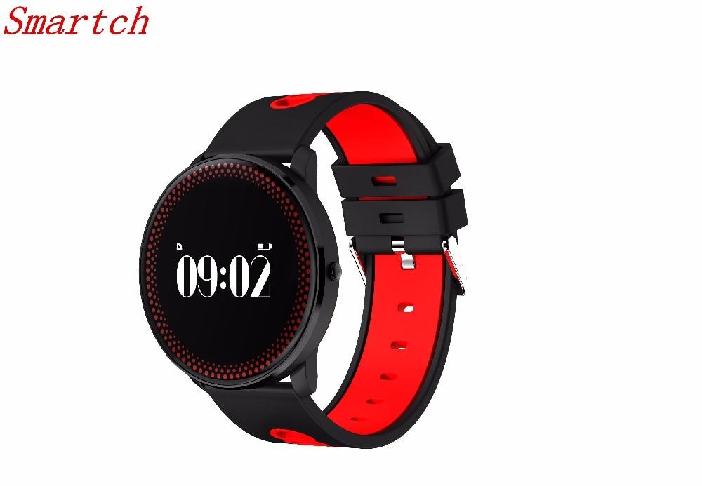 Smartch CF007 Waterppoorf Smart Armband Mit Herzfrequenz Blutdruck Sauerstoffmonitor Wettervorhersage Erinnerung Fitness Wristba