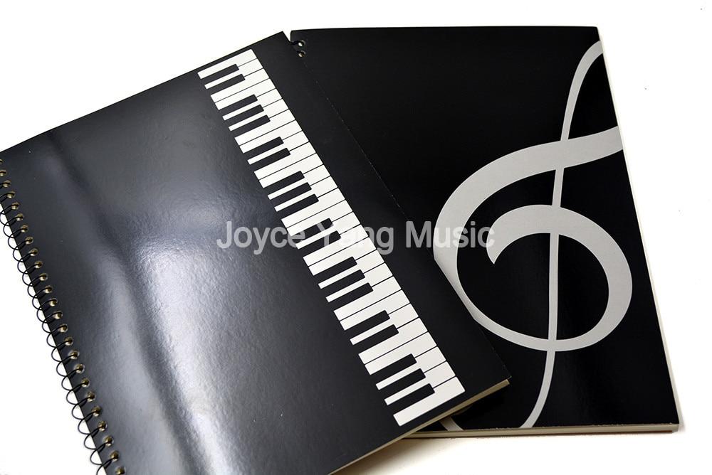 Niko Music Book Note Paper Music Staff Musician Song Writer Artist For Piano Guitar Violin Viola Cello Teacher School Supplies