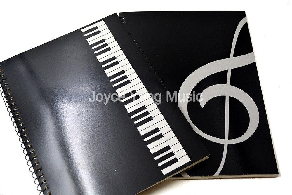 Niko Musique Livre Note Papier Musique Personnel Musicien Chanson Écrivain Artiste Pour Piano Guitare Violon Alto Violoncelle Fournitures Scolaires des Enseignants