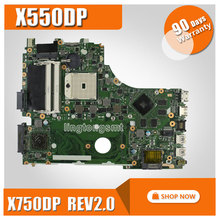 For ASUS X750DP K550D X550D X550DP laptop motherboard X750DP rev2.0 mainboard 100% tested working