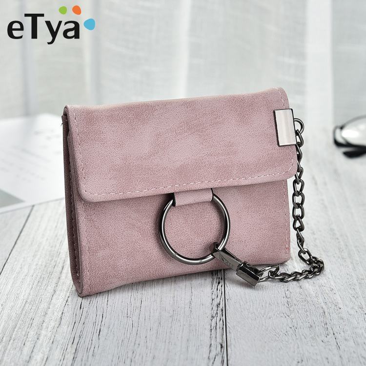 eTya NEW Women Wallet Fashion Short Wallets Female Coin Purse Credit Card Holders Small Handbags Multifunction Clutch Purses