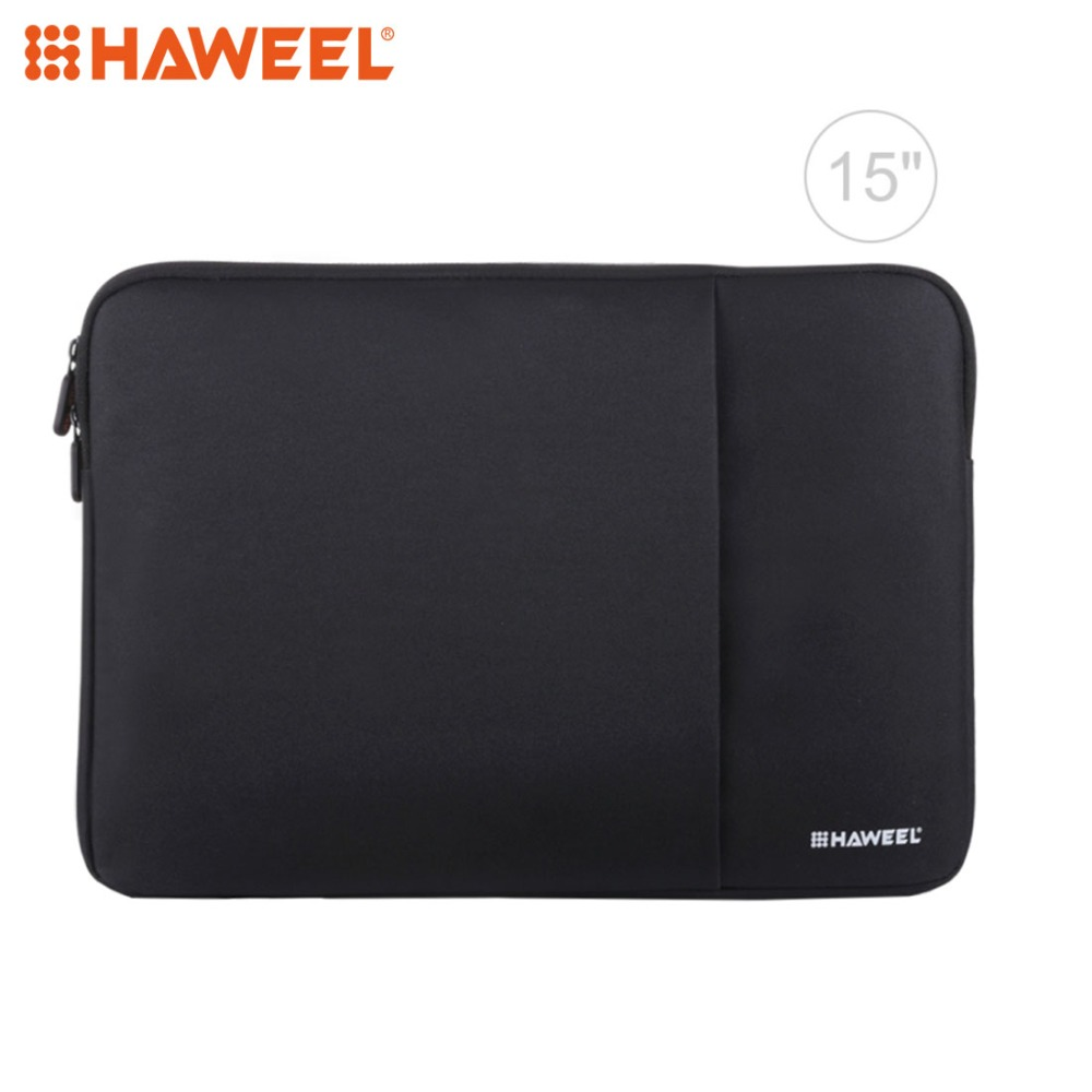 15.6 inch Zipped Laptop Case Tablet Holder Sleeve Protective Cover Bag Briefcase