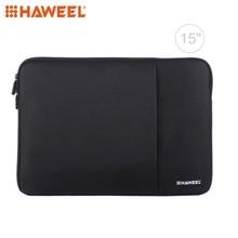 HAWEEL Laptop Bag For Macbook Sleeve Case Zipper Briefcase Cotton Carrying 11 12 13 14 15 inch
